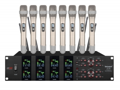ST-309 8 channel wireless microphone